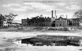 Postal Fábrica Anilina Bayer 1900